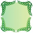 A leafy template — Stock Vector #42498965