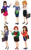 Businessminded ladies — Vettoriale Stock