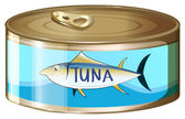 A can of tuna — Vector de stock