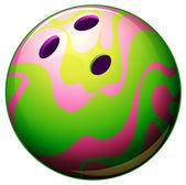 A bowling ball — Stock Vector