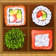 ������, ������: Japanese rice meals