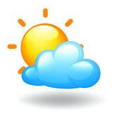 Ett soligt väder villkor — Stockvektor