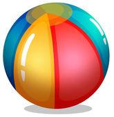 En badboll — Stockvektor