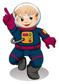 An astronaut — Stock Vector