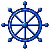 Eine Strand-navigation — Stockvektor