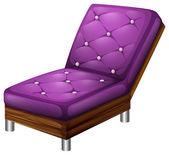 A violet furniture — Stock Vector