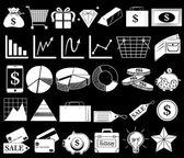 Different icons — Stock Vector