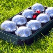Royalty-Free Stock Photo: The bocce balls.