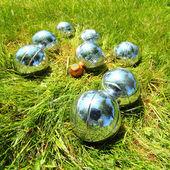 Le sfere di bocce. — Foto Stock