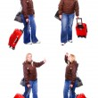 Girl going on vacation — Stock Photo #32518789