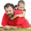 Young father and his son together. — Stock Photo