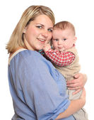 Young mother and child. — Stock Photo