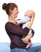 Młode matki z jej dzieckiem. — Zdjęcie stockowe