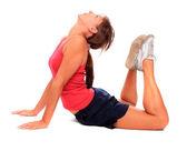 Photo d'une jeune femme sportive. mode de vie actif. — Photo