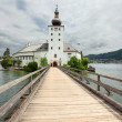 Постер, плакат: Gothic castle Ort on Traunsee Lake