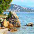 Marine sanctuary Trieste — Stock Photo