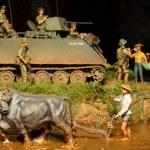 Постер, плакат: Soldiers and tank