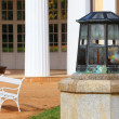 Lantern at Marianske Lazne Spa — Stock Photo