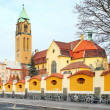 Stock Photo: Neogothic church of Virgin Mary and monastery (friary of st. Dominic)