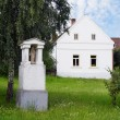 Czech traditional rural house — Stock Photo