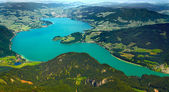 Mondsee Lake — Stock Photo