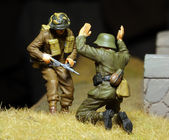 Vietnam War Scene — Stock Photo