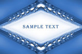 Boil in liquid, abstract organic background and easy removable text. — Stock Photo