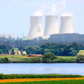 Nuclear power plant. — Stock Photo