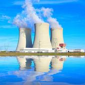 Elektrowni jądrowej. — Zdjęcie stockowe