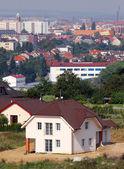Family house in city periphery — Stock Photo