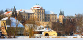 Chotesov monastery of Pilsen — Stock Photo