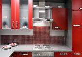 Modern kitchen, close up. — Stock Photo