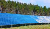 Solar power station — Stock Photo