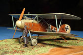 Aircraft model Albatross — Stock Photo