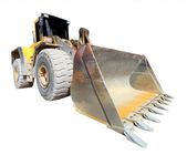 The loader excavator — Stock Photo