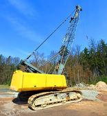The loader excavator — Stock Photo