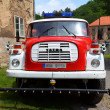 Stock Photo: Historic czech firetruck
