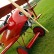 Stock Photo: Historic triplane Fokker Dr.1