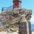 Watch tower in The Rio Marina — Stock Photo