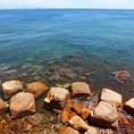 Iron ore on Island of Elba coast. — Stock Photo