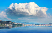 Gulf of Trieste in Adriatic sea. — Stock Photo