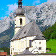 The Ramsau village — Stockfoto
