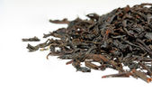 Dry black Puerh tea — Stock Photo