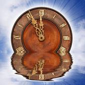 Sinking clock — Stock Photo