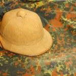 Antiquity cork helmet — Stock Photo #33795405