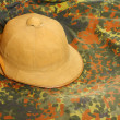 Antiquity cork helmet — Foto de stock #33795405