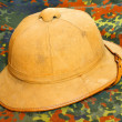 Antiquity cork helmet — Foto de stock #33795413