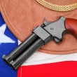 Double derringer pistol — Stock Photo
