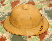 Antiquity cork helmet — Foto de Stock