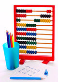 Essential tools for schoolchildren — Stock Photo